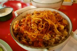 Koshari - my new favorite food