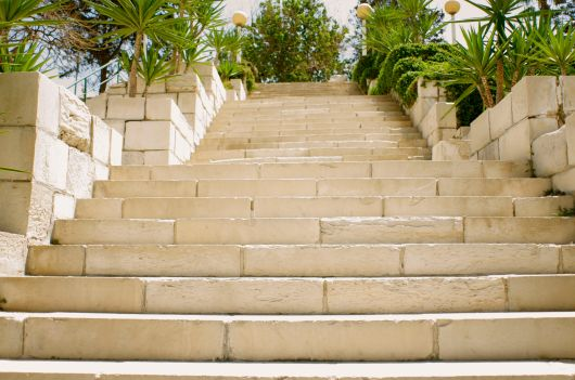 Steps to the Roman Amphitheater