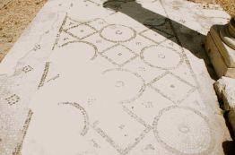 Original mosaic tile, circa 332 BC