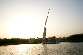 Felucca trip down the Nile River