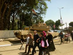 It was a two tank day in Maadi...