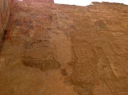 Luxor Temple - Crusaders' graffiti!