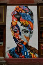 Audrey in Little Italy