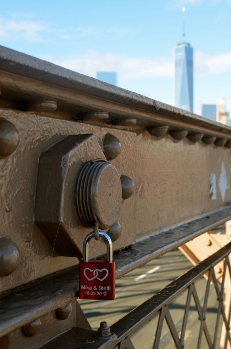 Brooklyn Bridge Love Letter