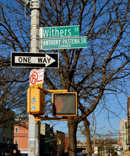 My grandfather grew up on this street in Brooklyn when he and his family moved there from Italy in the early 1900s.