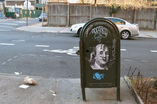 Ben Franklin Mailbox, Brooklyn