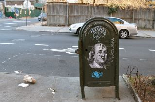 Ben Franklin Mailbox, Brooklyn